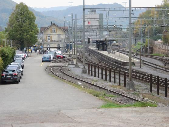 Es folgt der Bahnhof Frick am 25. Juli.