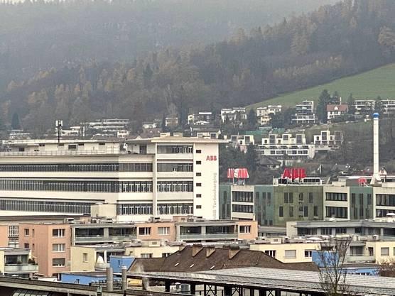 Das Turbolader-Geschäft (langes Gebäude links) hat in Baden einen hohen Stellenwert und beschäftigt hier 800 Mitarbeitende.