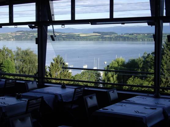 Aussicht vom Restaurant/Hotel