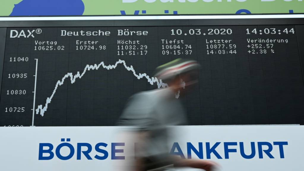 Dax nun mit 40 Konzernen - Erste deutsche Börsenliga erweitert
