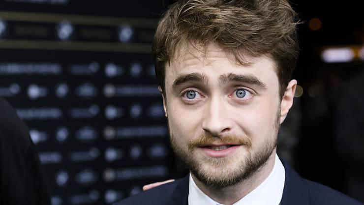 Daniel Radcliffe - hier am Zurich Film Festival - findet, er wäre als Film-Held nicht glaubwürdig. Als Bond-Bösewicht sähe er sich schon eher. (Archivbild)