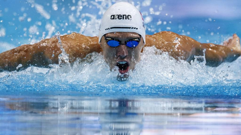 Jérémy Desplanches ist einer der 116 Athletinnen und Athleten, welche die Schweiz an den Olympischen Spielen vertreten