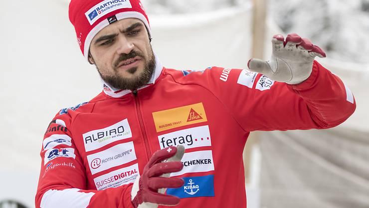 Der Schweizer Aufsteiger der Saison: Bobpilot Clemens Bracher