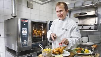 Thomas Schäublin steht derzeit nicht wie gewohnt in der Küche.