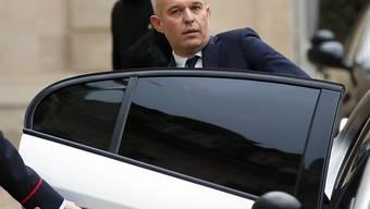 """Der wegen einer """"Hummer-Affäre"""" in die Kritik geratene französische Umweltminister François de Rugy hat am Dienstag seinen Rücktritt bekanntgegeben. (Archivbild)"""