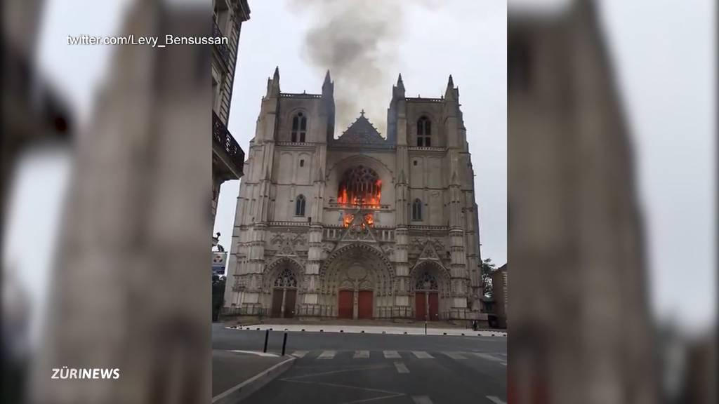 Brand in Kathedrale von Nantes: Ermittlungen wegen Brandstiftung laufen