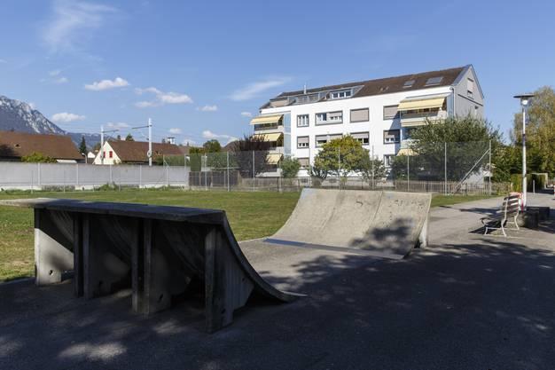 Die öffentliche Skatinganlage am Föhrenweg