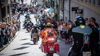 Harley Parade an der HESO 2019