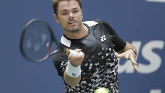 Stan Wawrinka räumt am US Open wie schon im letzten Juli in Wimbledon Grigor Dimitrov in der Startrunde aus dem Weg