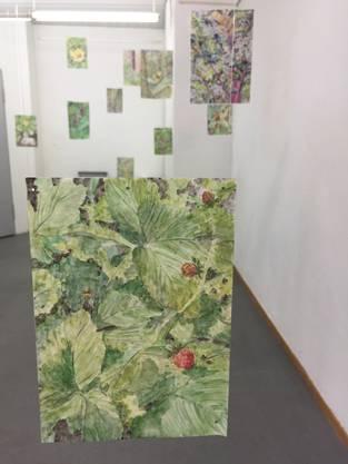 Sara Rohner: Schwebender Garten, 2016-2018.