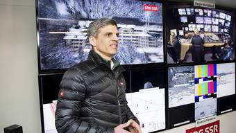 Roland Mägerle freut sich über Rekordzahlen auf SRF zwei