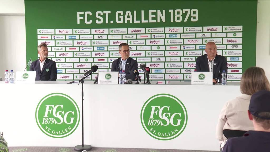 FCSG: Zeidler und Sutter unterschreiben bis 2025