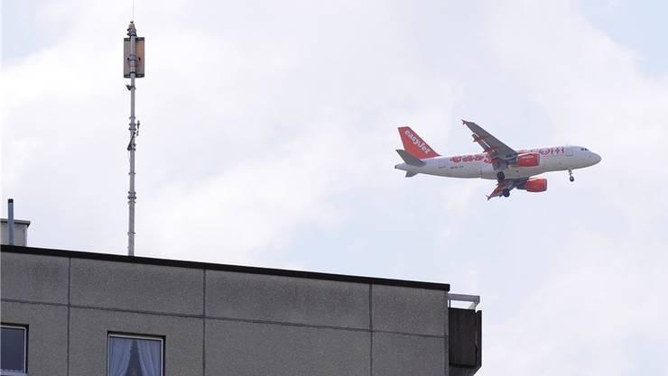 In Aesch gab zuletzt keine Lärmklagen mehr aus der Bevölkerung wegen des Flugverkehrs.niz/BZ-Archiv