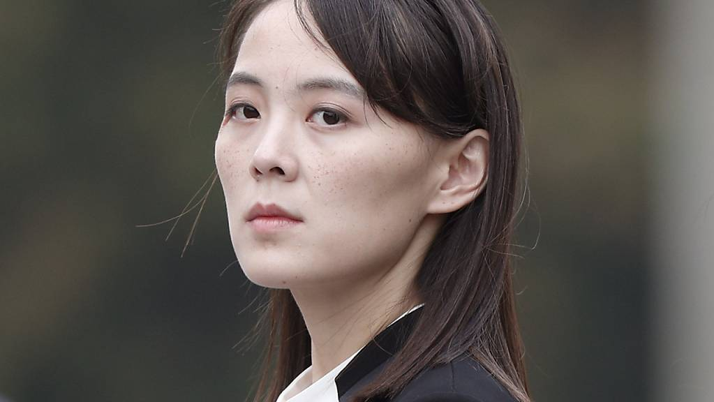 ARCHIV - Kim Yo Jong, Schwester des nordkoreanischen Machthabers Jong Un. Foto: Jorge Silva/Pool Reuters/AP/dpa