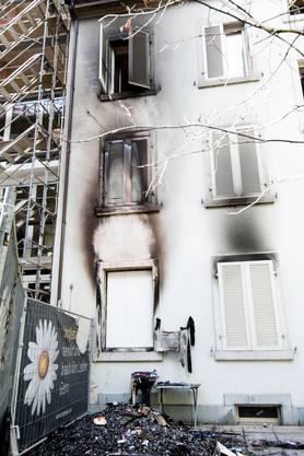 Der Brand brach in einem Haus an der Basler Lehenmattstrasse aus.