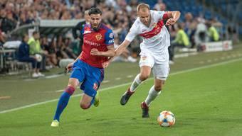 Jubiläumsspiel FC Basel gegen den VFB Stuttgart