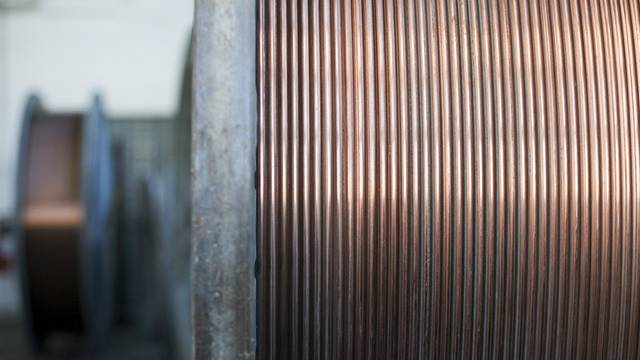 Begehrtes Material: Kupferkabel