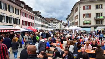 Das letzte Stadtfest fand in der Kirchgasse statt. (Archivbild vom 1. Juli 2017)