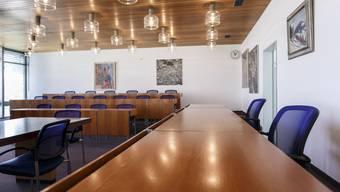 Noch ist der Stuhl des Gemeindepräsidenten nicht besetzt.