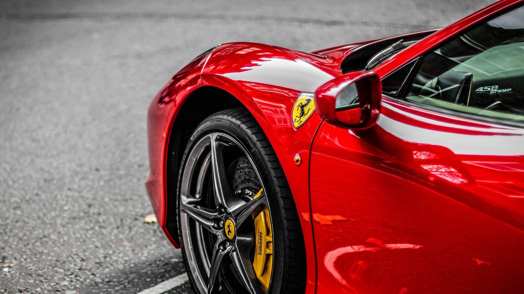 Ferrari Luxusauto karosse
