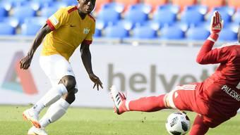 Soll beim FC Zürich für die entscheidenden Tore sorgen: der junge Nigerianer Stephen Odey
