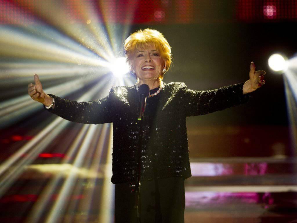 Sie blieb die einzige Schweizerin, die den Eurovision Song Contest je gewann: Lys Assia starb am Samstag mit 94 Jahren. Das Archivbild zeigt sie bei einem Auftritt im Jahr 2011.