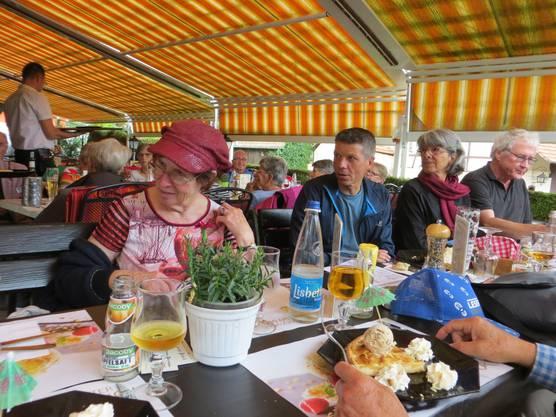 Das Zvieri im Restaurant Starck.