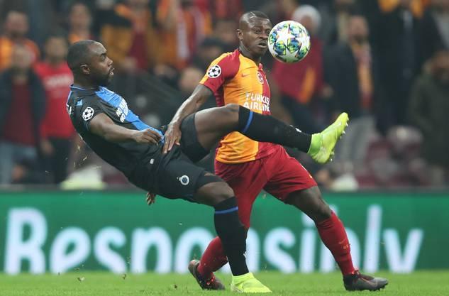 Eder Balanta spielte in dieser Saison mit Brügge fünfmal in der Champions League.