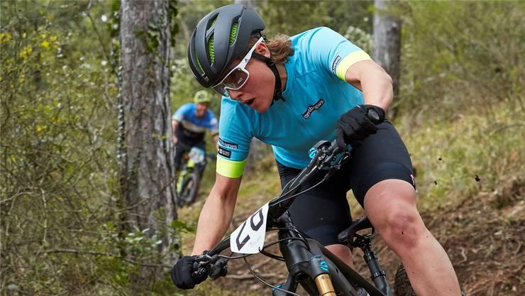 Nathalie Schneitter sitzt auch nach ihrem Rücktritt vom Profisport mindestens zehn Stunden pro Woche auf dem (E-)Mountainbike.