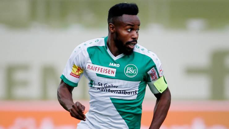 In der Saison 2017/18 war Toko Captain des FC St. Gallen