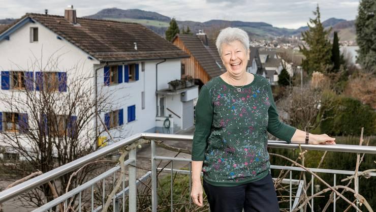 Romy Meyer ist Präsidentin des Quartiervereins Schinznach-Bad. Nächsten Monat wird sie pensioniert. 14 Jahre lang arbeitete sie als Waagmeisterin in der KVA Buchs.