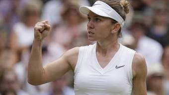 Simona Halep erreichte in Wimbledon ihren fünften Grand-Slam-Final der Karriere