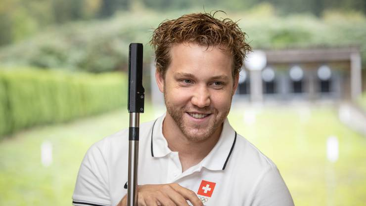 Der Solothurner Jan Lochbihler hat die Olympischen Spiele 2021 anvisiert.