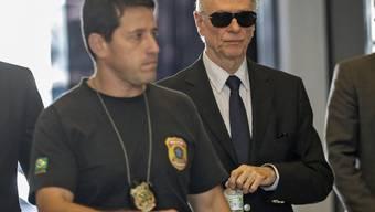 Carlos Arthur Nuzman (rechts) gerät weiter ins Visier der brasilianischen Justiz