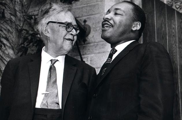 Barth und Martin L. King, 1962.