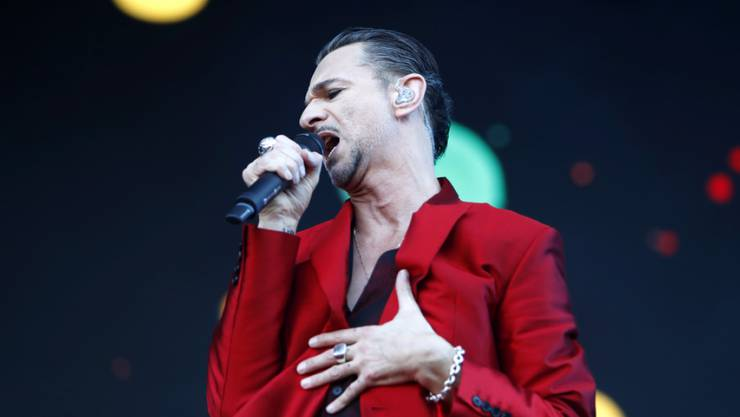 Dave Gahan, Frontmann von Depeche Mode, musste die Nacht in einem Minsker Spital verbringen. Woran der Brite litt, ist nicht bekannt. (Archivbild)