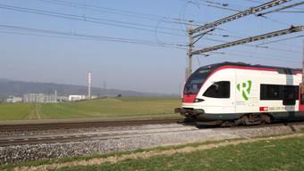 Die Situation am Trassee der Schweizerischen Bundesbahnen zwischen Eiken und Münchwilen wirft Fragen auf.