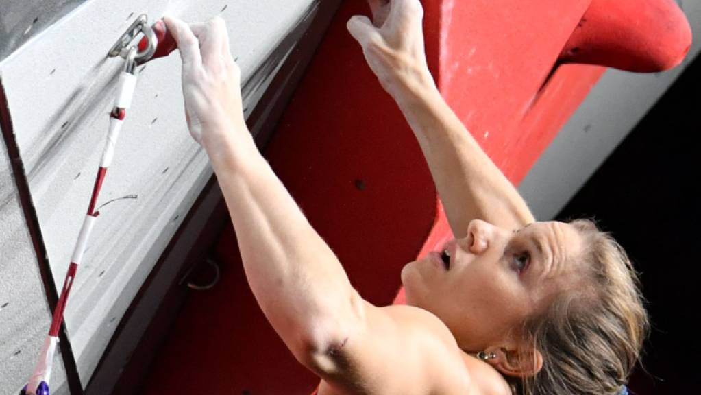Vorerst ausser Gefecht gesetzt: Sportklettererin Petra Klingler.