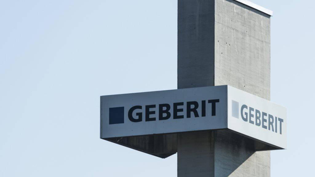 Geberit hat im ersten Quartal etwas mehr verkauft als im Vorjahr (Archivbild).