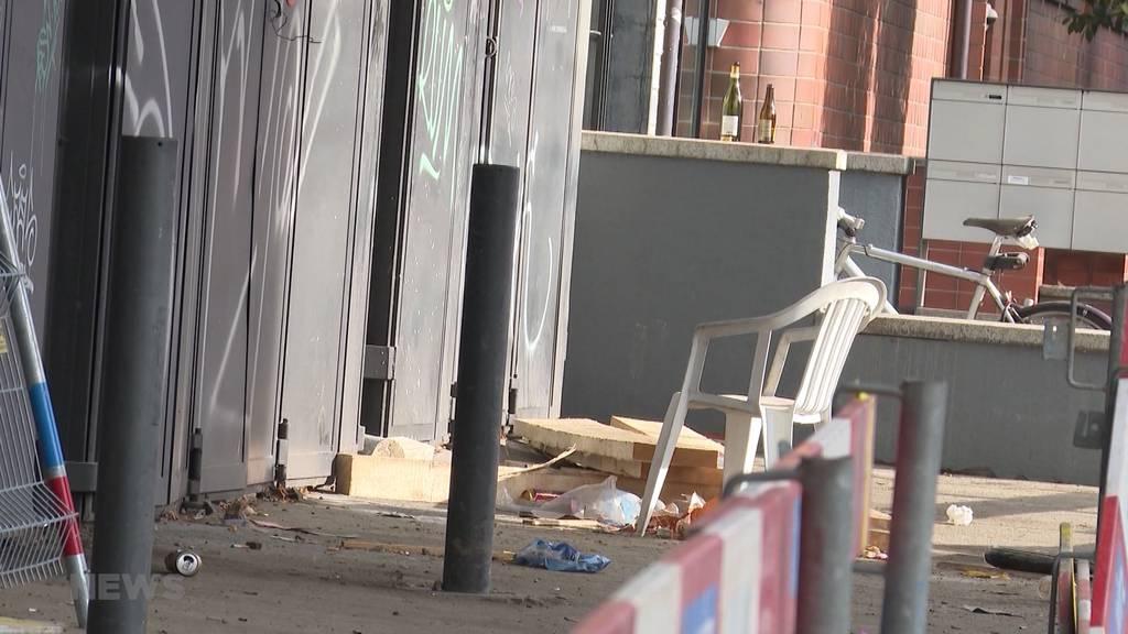 Sechs Polizisten bei Einsatz in Bern verletzt