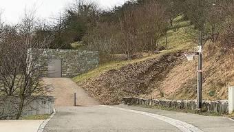 Die Visualisierung zeigt den Eingang des Reservoirs.