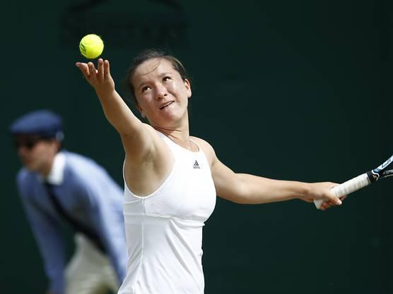 Lulu Sun an Wimbledon im letzten Jahr