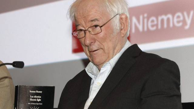Seamus Heaney (Archivbild) starb im Alter von 74 Jahren