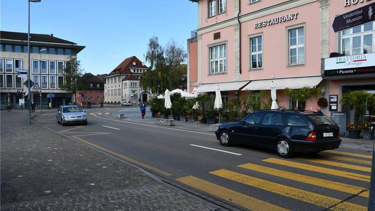 Aus der Verkehrsfläche um den Eisi-Platz könnte mit dem Vorschlag von Markus Lang ein Begegnungsraum entstehen.