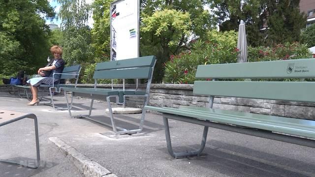 Neue Sitzbänke sind Alters- und Behindertengerecht
