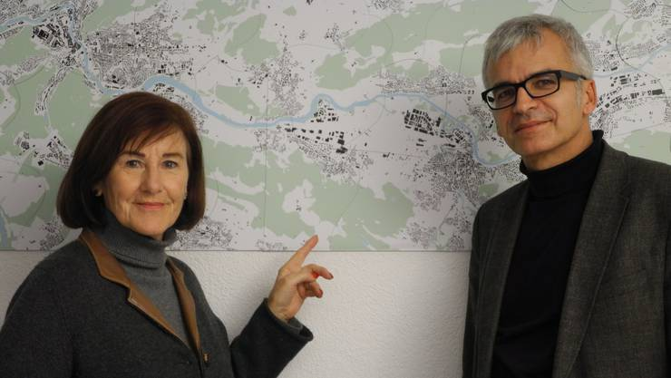 Brigitta Johner und Peter Wolf suchen nach innovativen Projekten, die helfen sollen, das Limmattal weiterzuentwickeln. zim