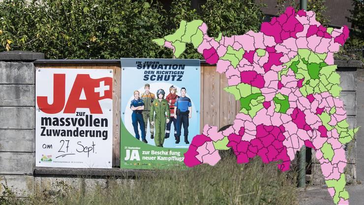Neben fünf nationalen und zwei kantonalen Vorlagen kamen am vergangenen Abstimmungssonntag in diversen Gemeinden auch noch kommunale Wahl- und Abstimmungsgeschäfte an die Urne.