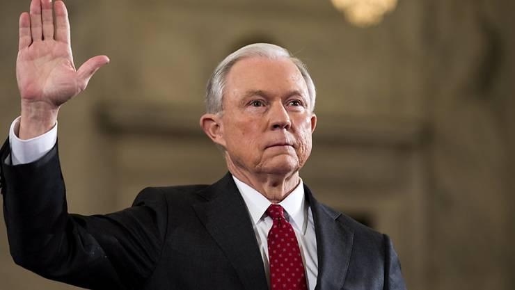 Als US-Justizminister bestätigt: Jeff Sessions. (Archivbild)