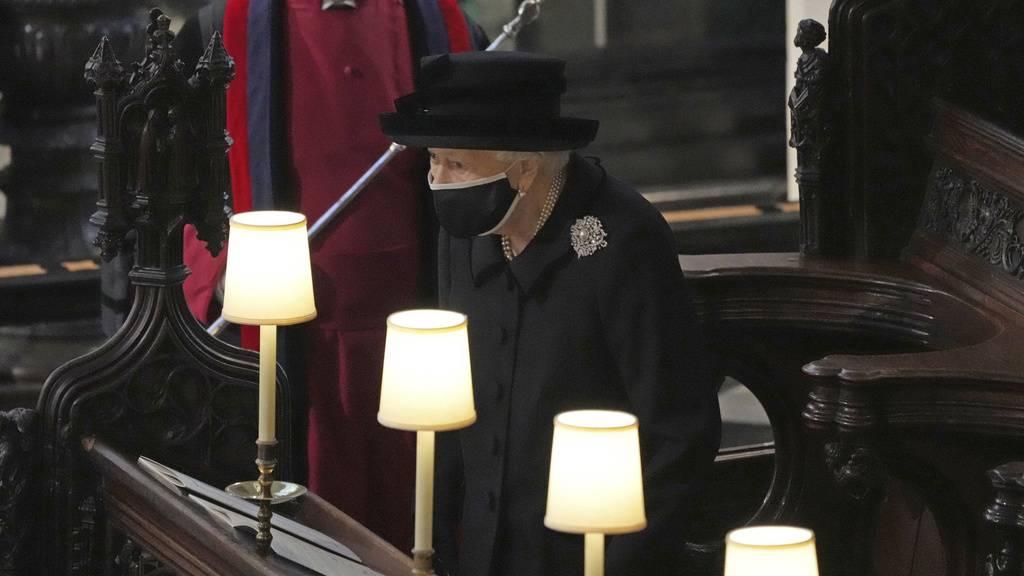 Queen nahm ein letztes Mal Abschied von ihrem Mann