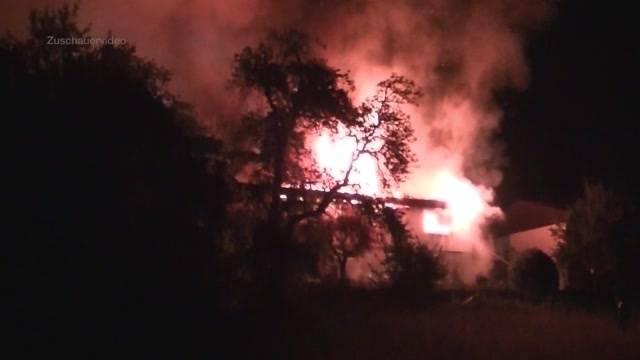 Hausbrand in Wettingen